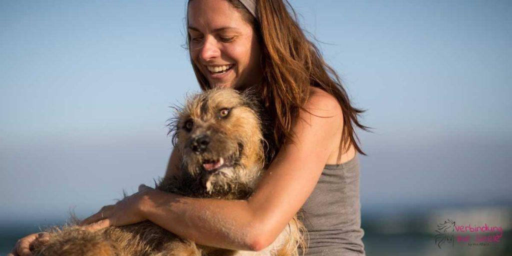 Frau Hund Onlinekurs mit dem eigenen Tier sprechen lernen für Privat und Energiearbeit